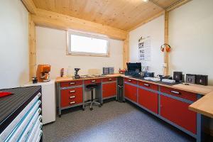 Salle de bricolage